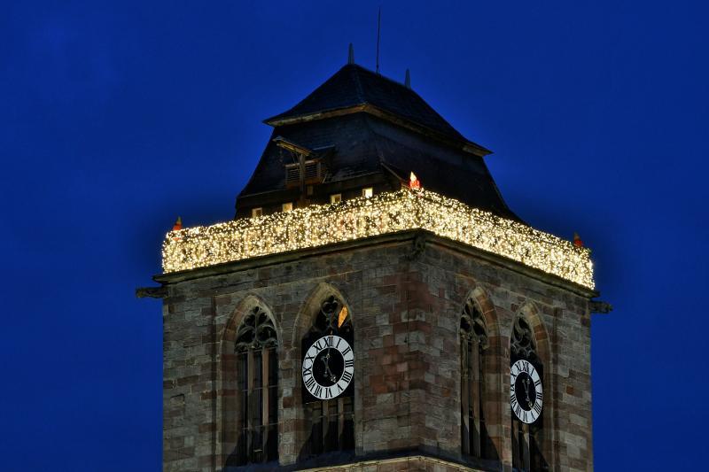 Stadtmarketing entwickelt Weihnachtsbeleuchtung fort