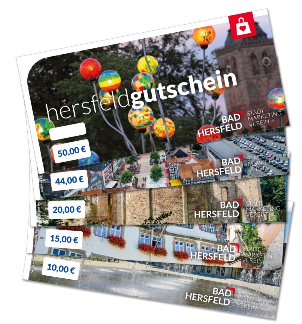 Hersfeld-Gutscheine